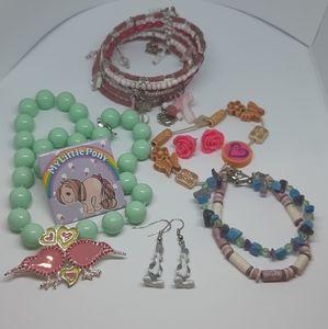 Kids Play Jewelry Lot